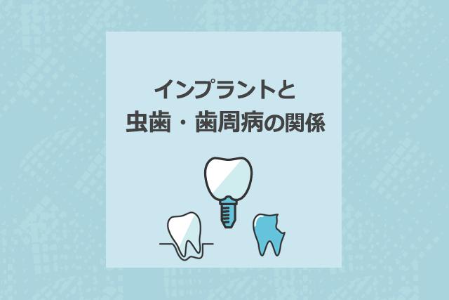 インプラントと虫歯・歯周病の関係